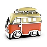 VW Camper–Sterling Silber Charm Armband Bead, in Geschenkverpackung
